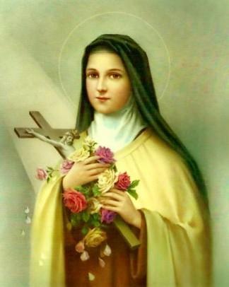 Sainte Thérèse de Lisieux. Fête le 1er octobre