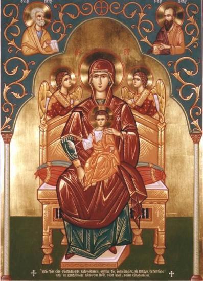 Icône de Notre-Dame de Saidnaya (Syrie)