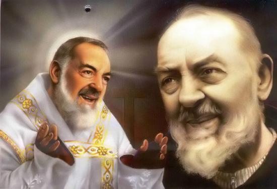 Image pieuse du Saint Padre Pio de Pietrelcina