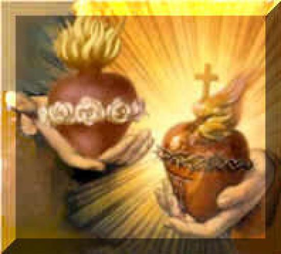Les deux Saints Coeurs Unis