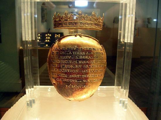 Reliquaire du coeur d'Anne de Bretagne