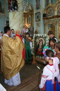 Sainte-Philomène, Ukraine
