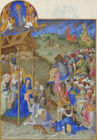 Adoration des Rois-Mages