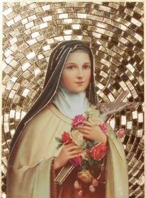 Sainte-Thérèse en or