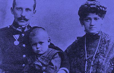 Jean-Paul II et parents