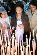 Ingrid Betancourt à Lourdes
