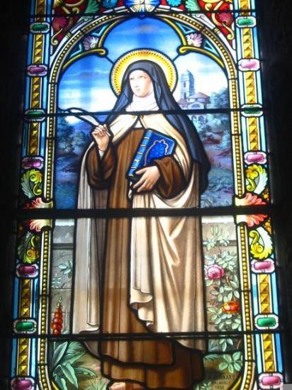 Sainte-Thérèse, Vitrail