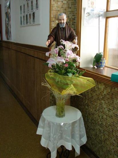 Padre Pio à la Casa Sollievo della Sofferenza