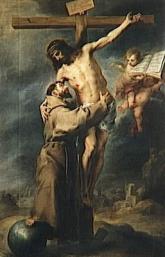 Saint-François et le Christ