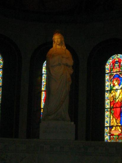 Statue de la Vierge, la Salette (38)