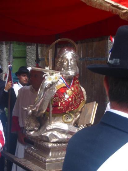 Procession de la Saint Jean-Baptiste à Entrevaux (04)