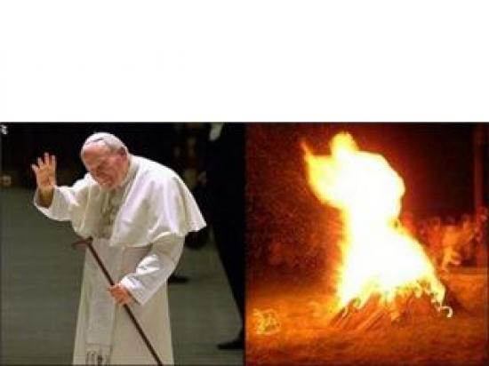 Jean-Paul II et le feu d'Amour