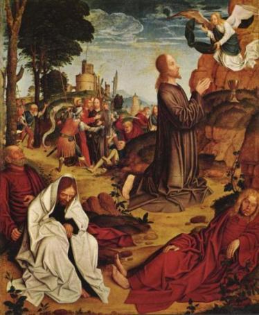 Christ au Mont des Oliviers