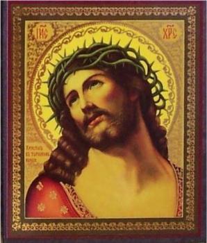Jésus-Christ couronné d'épines