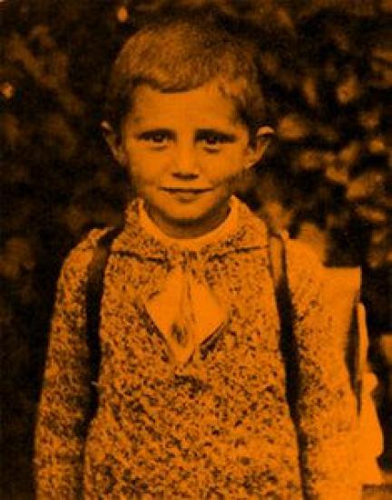 Benoît XVI enfant