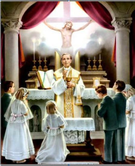 Messe, Communion et enfants