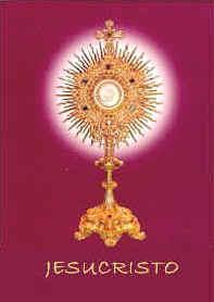 Jesucristo realmente presente en la Eucaristía