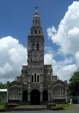 Eglise Sainte-Anne, Saint-Benoît, la Réunion