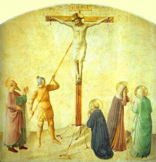 Saint-Dominique avec le Christ percé par la lance