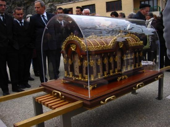 Reliques de Sainte-Thérèse de Lisieux