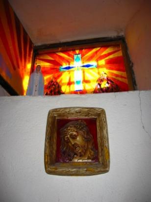 Christ, chapelle de la citadelle d'Entrevaux (04)
