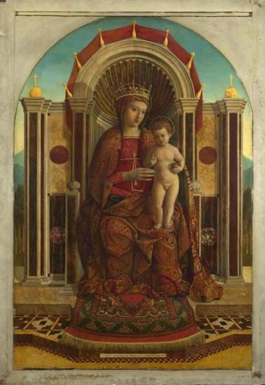 La Vierge à l'Enfant en majesté