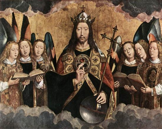 Le Christ-Roi par Hans Memling