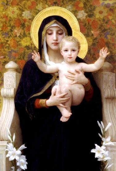 Vierge Marie et l'Enfant-Jésus