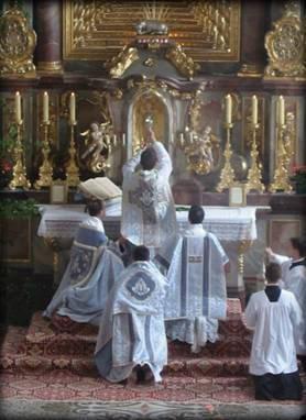 Messe Tridentine et Sainte Eucharistie