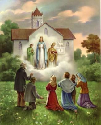 """""""Nous proclamons Marie très Sainte, MÈRE DE L'ÉGLISE"""""""