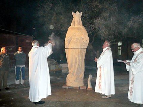 Nouvelle statue de Notre-Dame d'Afrique, Alger
