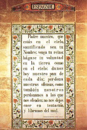 Notre Père en espagnol/Padre nuestro