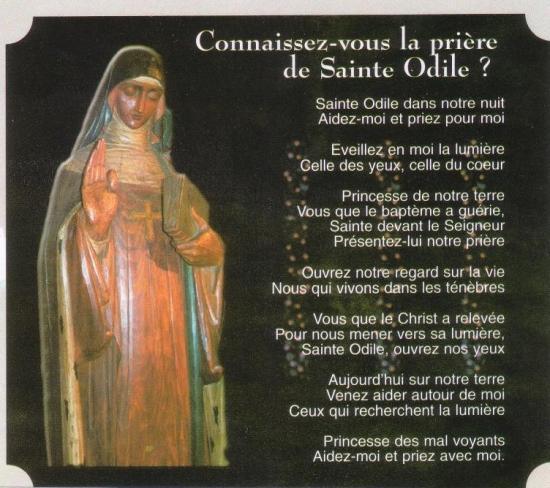 Prière à Sainte-Odile