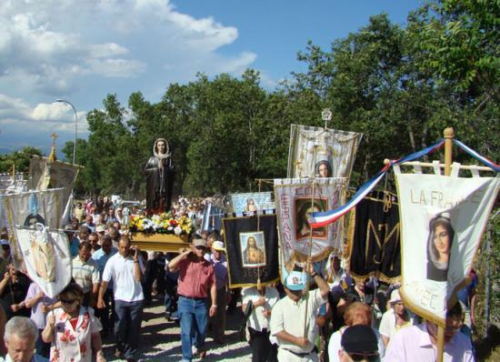 Procession de Notre-Dame de l'Escorial
