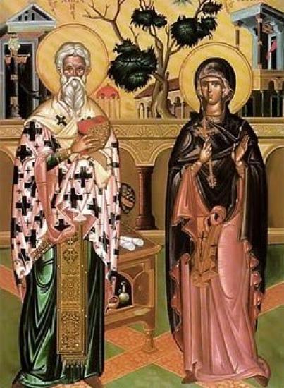 Saint-Cyprien et Sainte-Justine, martyrs