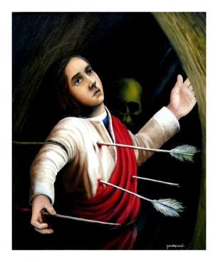 Saint-Sébastien martyr