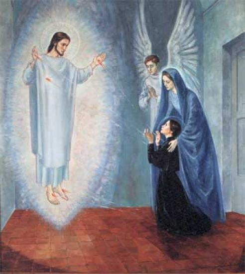 Vision du Christ de Sainte-Gemma Galgani