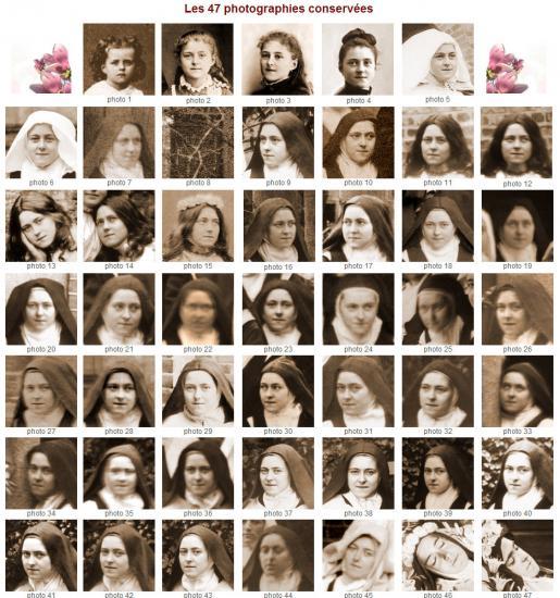 Les 47 photos de Sainte Thérèse de Lisieux