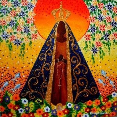 Représentation de Notre-Dame d'Aparecida, Patronne du Brésil
