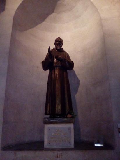 Statue du  Saint Padre Pio