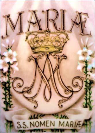 S.S. Nomen Mariae,Très Saint Nom de Marie,parousie.over-blog.fr