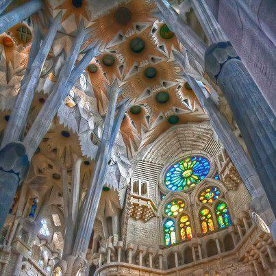 Basilique Sagrada Familia de Barcelone (Espagne)
