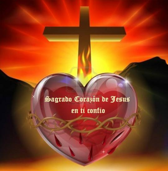 Sagrado Corazon de Jesus,parousie.over-blog.fr
