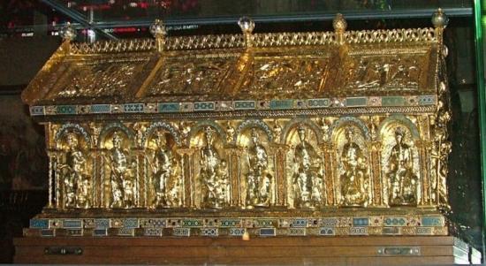 Tombeau de Charlemagne, Cathédrale d'Aix-la-Chapelle (Allemagne)