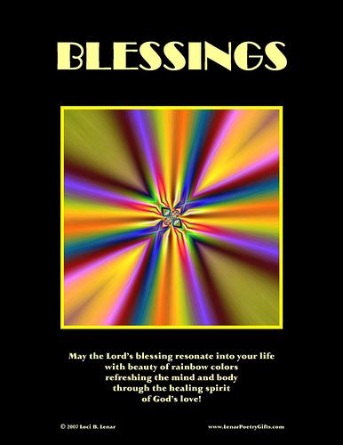 Blessings, Loci B. Lenar