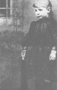 Sainte-Gemma Galgani à 7 ans