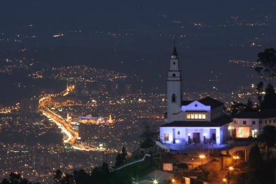 Sanctuaire Montserrate de Bogota