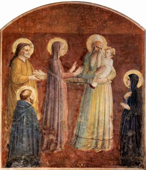 Présentation de Jésus au Temple, Fra Angelico