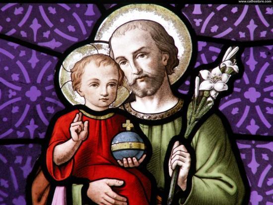 Saint-Joseph, Père adoptif du Sacré-Coeur de Jésus