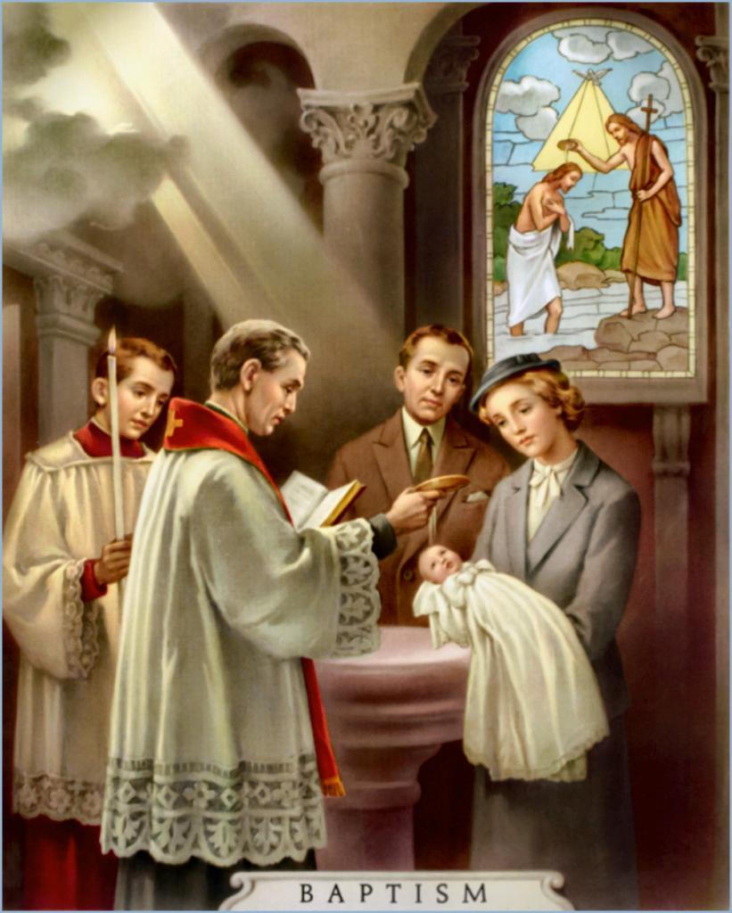 Baptism - Sacrement du Baptême